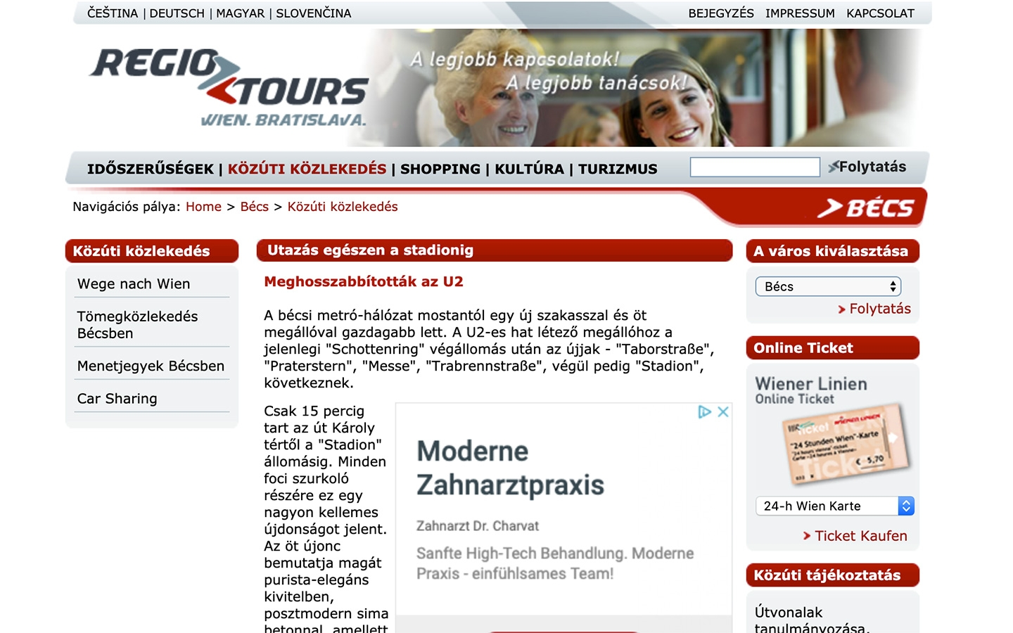 RegioTours | regiotours.net | 2005 (Screen Only 04) © echonet communication