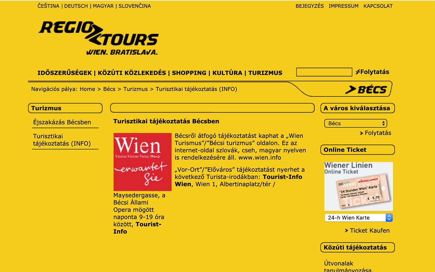 RegioTours | regiotours.net | 2005 (Screen Only 05) © echonet communication