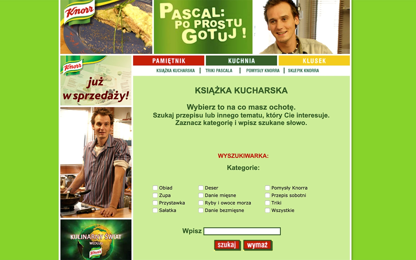 Pascal: Po Prostu Gotuj! | poprostugotuj.onet.pl | 2004 (Screen Only 06) © echonet communication