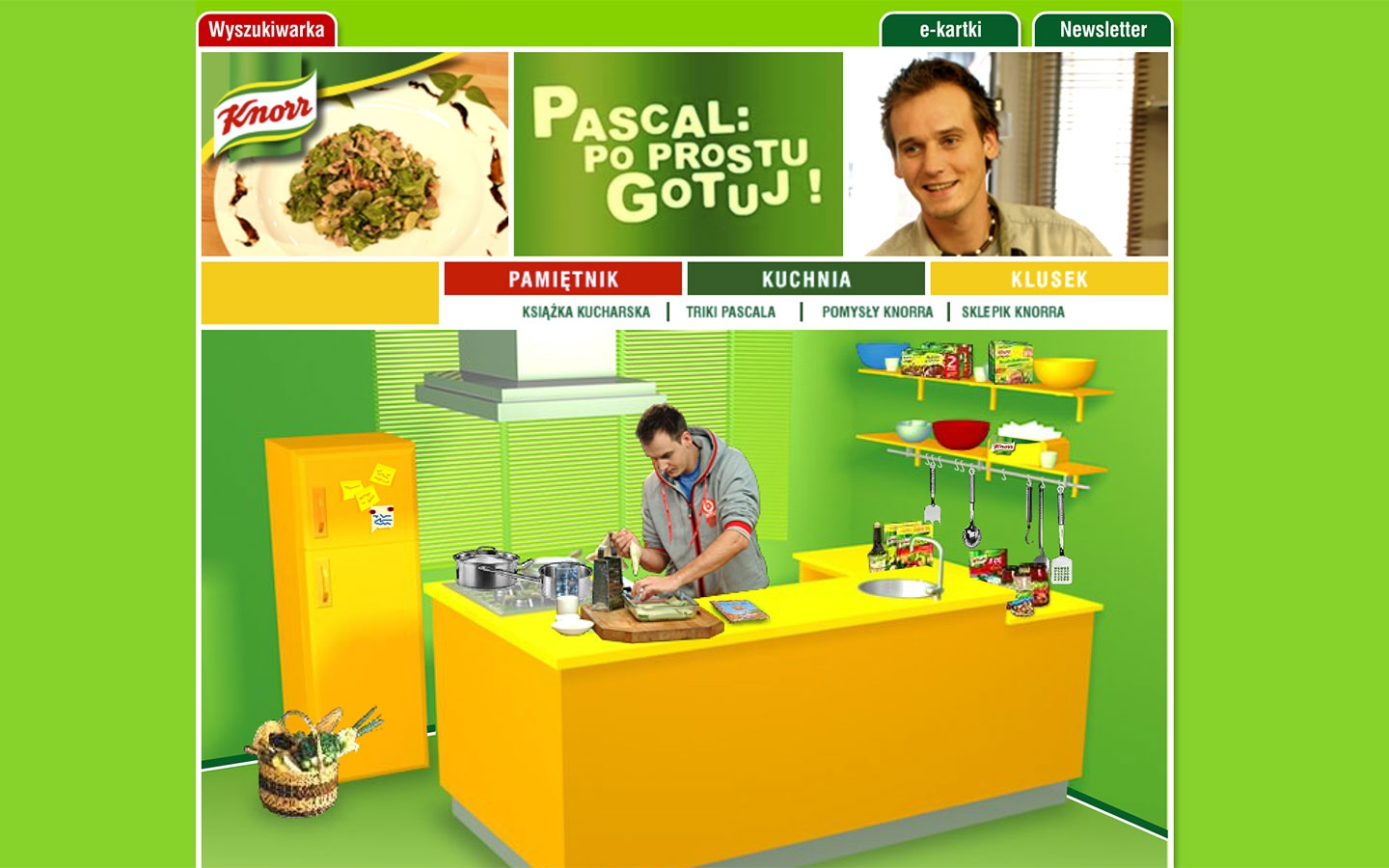 Pascal: Po Prostu Gotuj! | poprostugotuj.onet.pl | 2004 (Screen Only 07) © echonet communication
